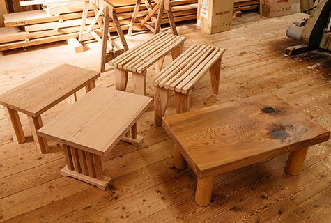 手作り家具も作成いたします